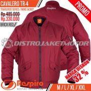 Jaket-Bomber-Respiro-CAVALERO-Brick-Red