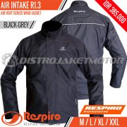 Jaket-Respiro-AIR-INTAKE-Black-Grey