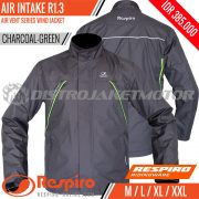 Jaket-Respiro-AIR-INTAKE-Charcoal-Green