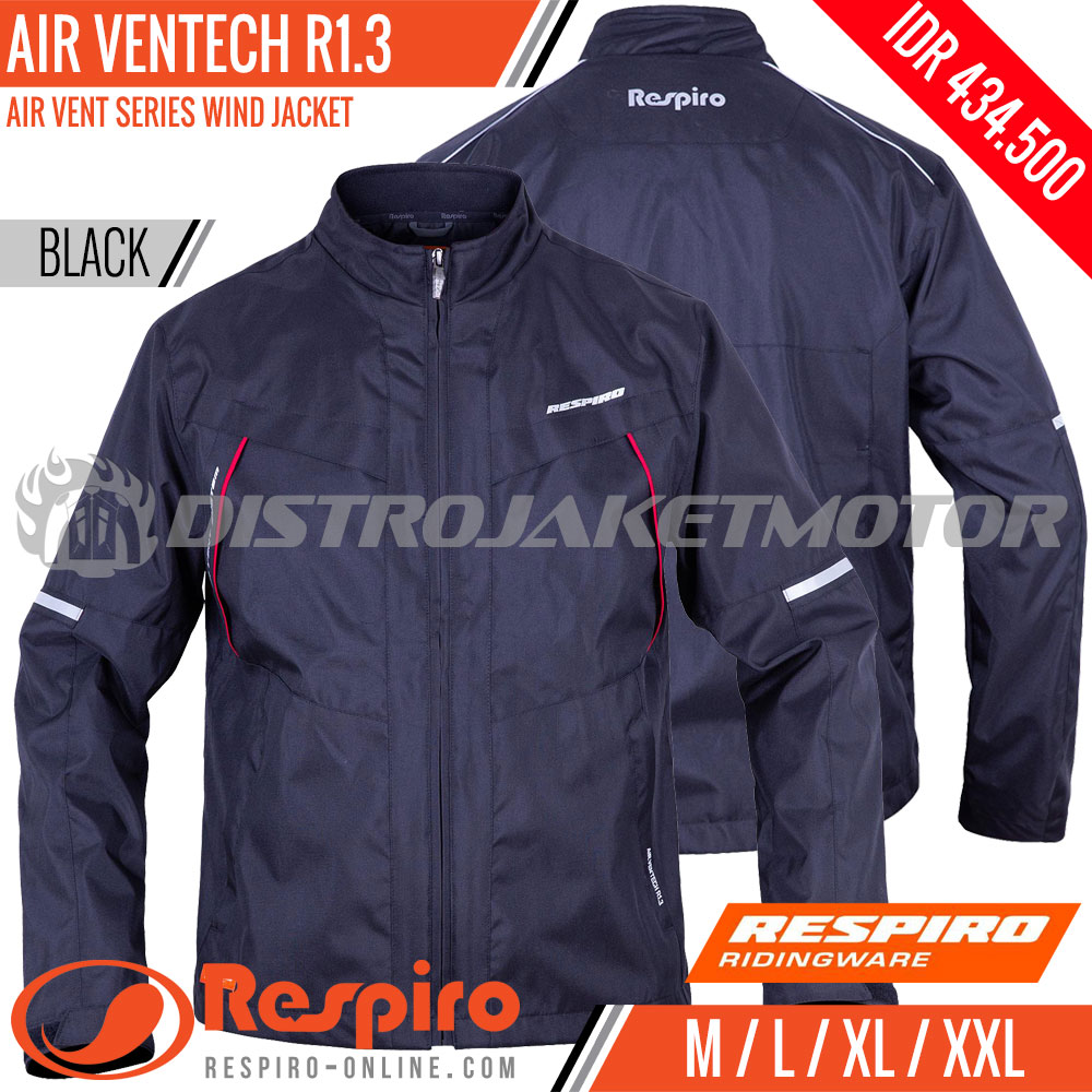 Jaket Respiro Air Ventech R13 Baselayer Black