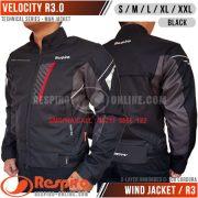 Jaket-Respiro-VELOCITY-R3-Black-SP